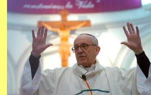 O novo papa.