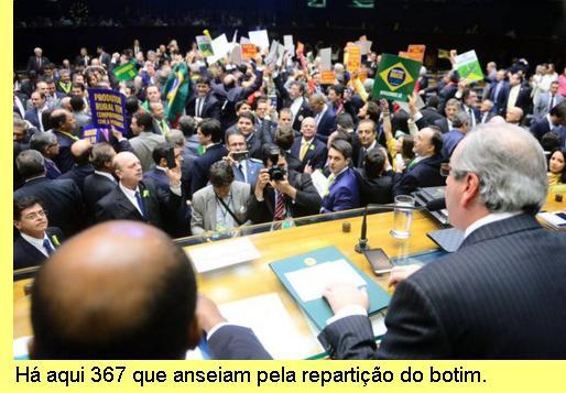 Câmara baixa do parlamento brasileiro.