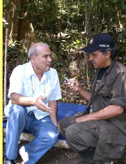 Ivan Pinheiro em entrevista à 'Rádio Rebelde'.