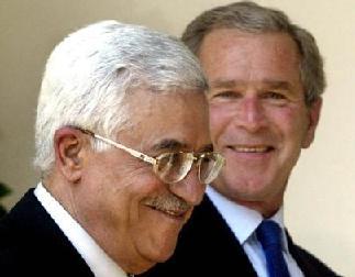 Abbas e Bush.