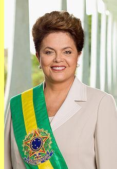 Foto oficial da presidente Dilma.