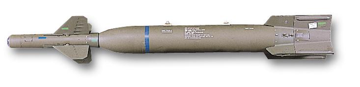 Guided Bomb Unit GBU-27, destruidora convencional de bunkers.