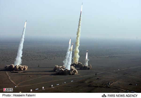 .Lançamento de mísseis