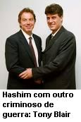 com Tony Blair.