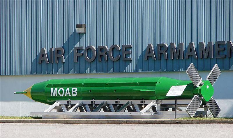 """Mother of All Bombs"" (MOAB)."