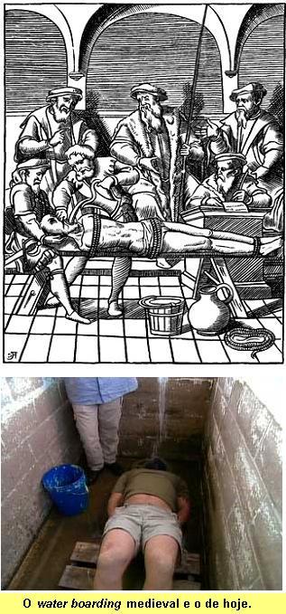 A tortura da �gua.