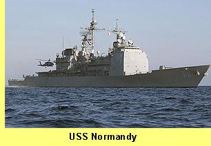 USS Normandy.