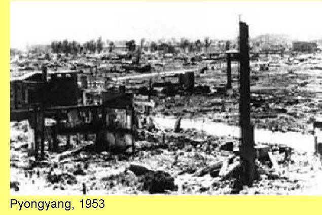 Pyongyang em 1953.