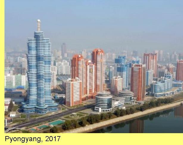 Pyongyang em 2017.