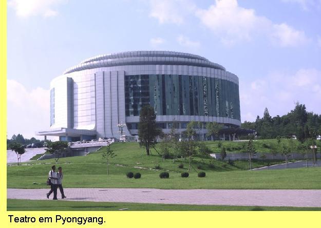 Teatro em Pyonyang.