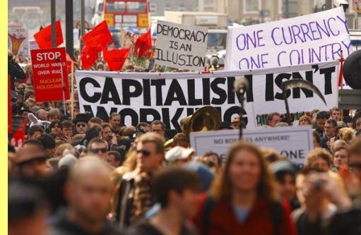 'O capitalismo não funciona'.