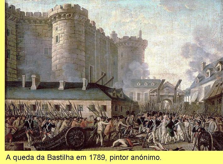 Queda da Bastilha.