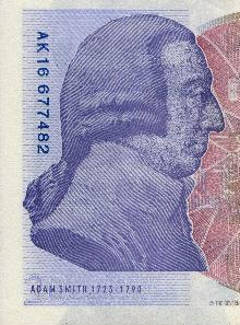 Adam Smith, 1723-1790.