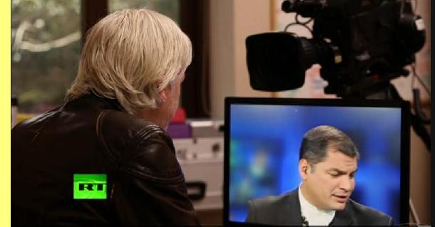 Entrevista ao presidente Rafael Correa.