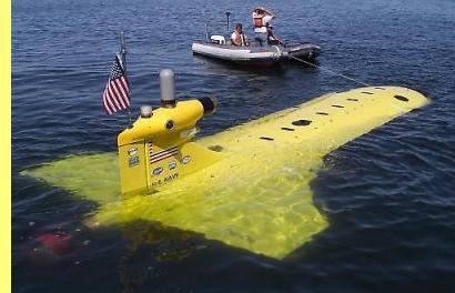 Drone subaquático.