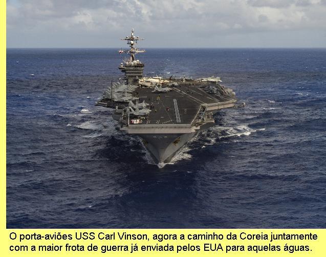 USS Carl Vinson.