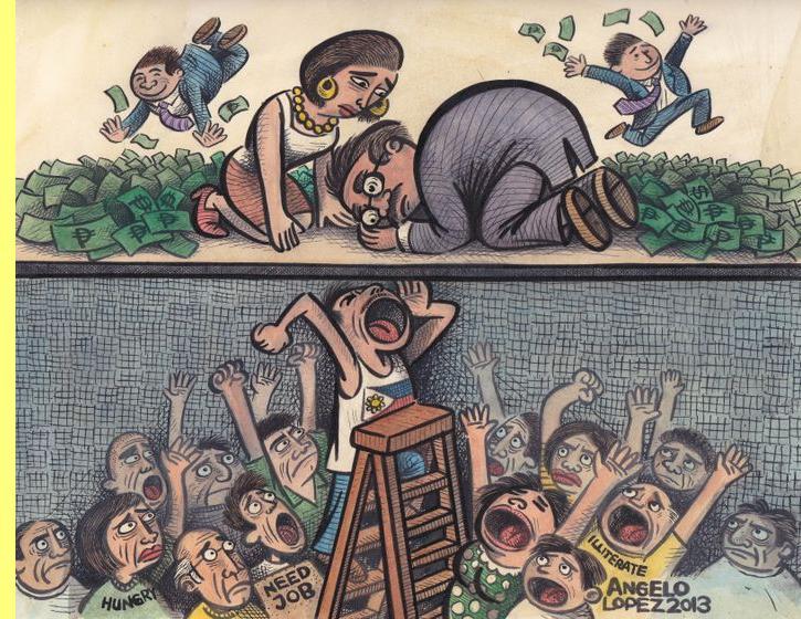 Cartoon de Angelo Lopez.