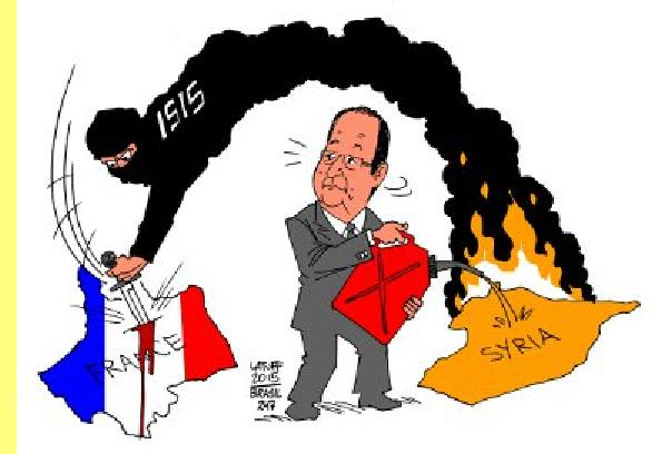 Cartoon de Latuff.