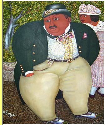 'Cavalheiro bem apessoado', de Pierre Louis Riche.