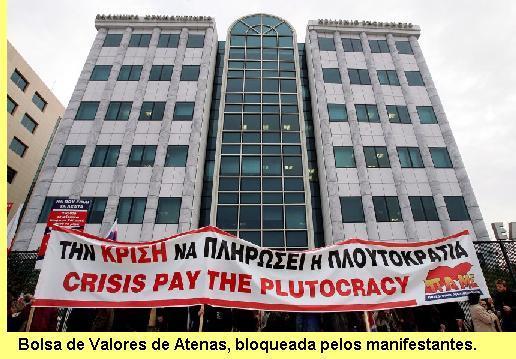 Bolsa de Valores de Atenas.