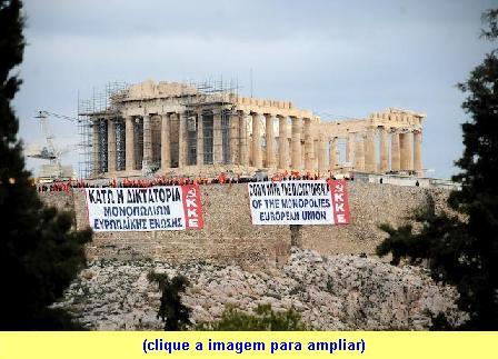 Abaixo a ditadura da União Europeia dos monopólios.