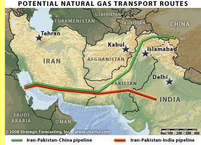Gasoduto Ir�o-�ndia-China.