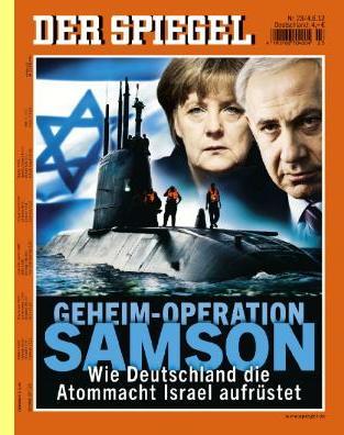 Capa da Der Spiegel, Junho/2012.