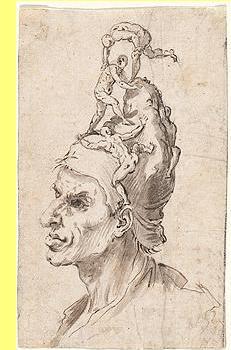 Goya, 'Cabeça de um homem'.