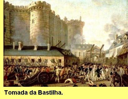 Tomada da Bastilha.