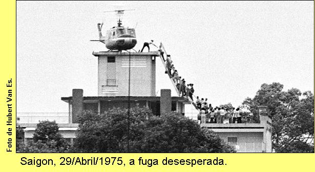 A fuga de Saigon.