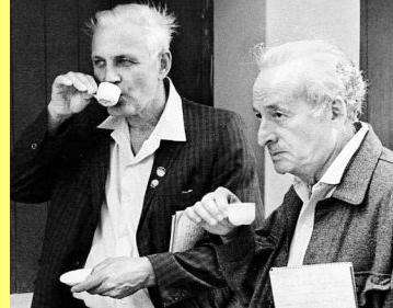 Paul  Sweezy e Leo Huberman, em Cuba.