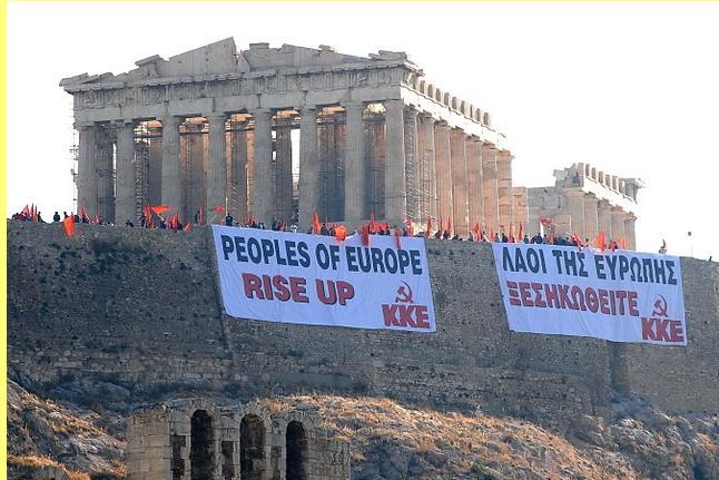'Povos da Europa: levantai-vos.