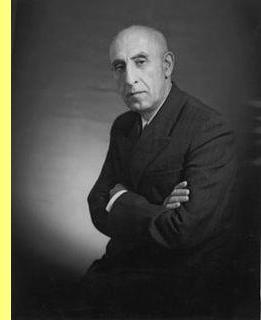 Mohammed Mossadegh.