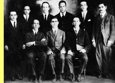 Os fundadores do PCB.
