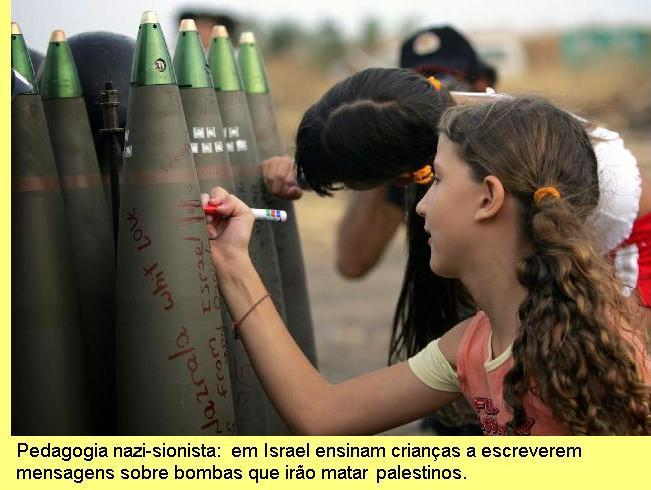 Pedagogia nazi-sionista.