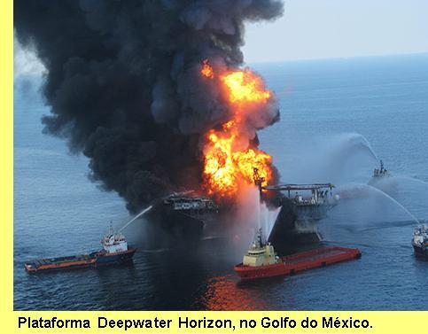 Plataforma Deepwater Horizon.