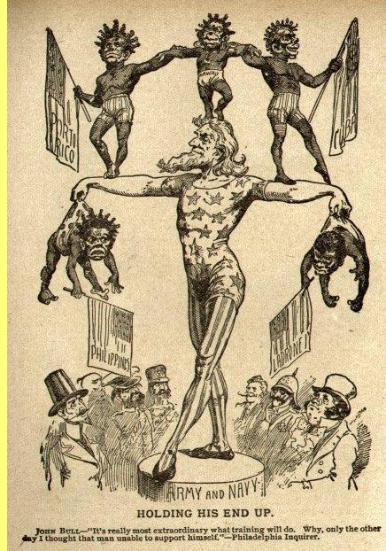 Cartoon de 1899.