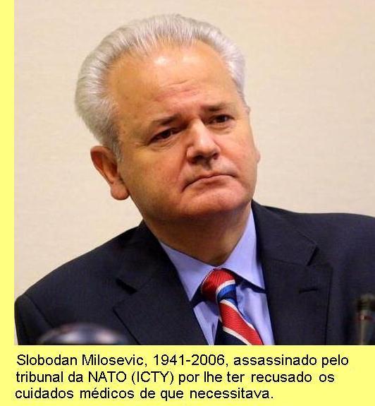 Slobodan Milosevic.