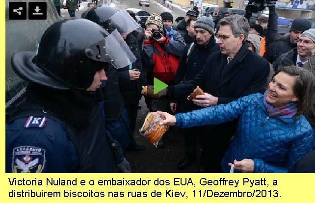 Vitoria Nuland e o embaixador dos EUA na Ucrânia.