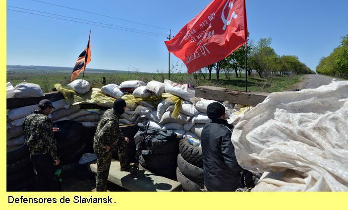 Defensores de Slaviansk.