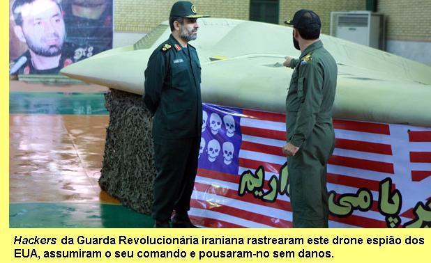 Drone americano capturado pelo Irão.
