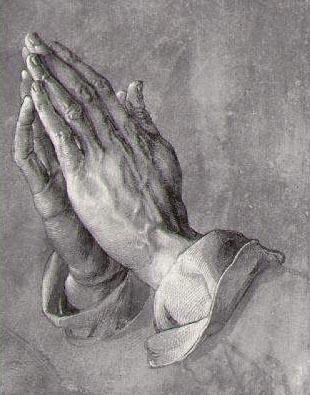 'Mãos em oração', de Durer.