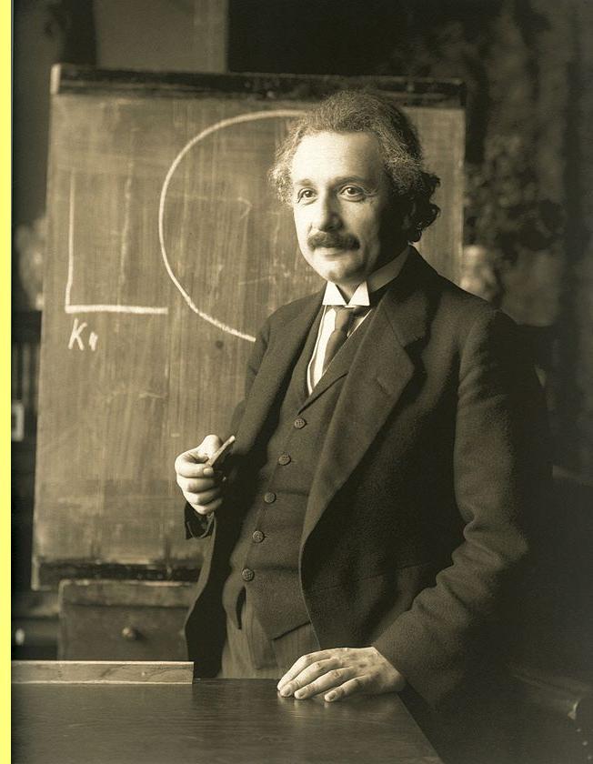Albert Einstein, foto em 1921.
