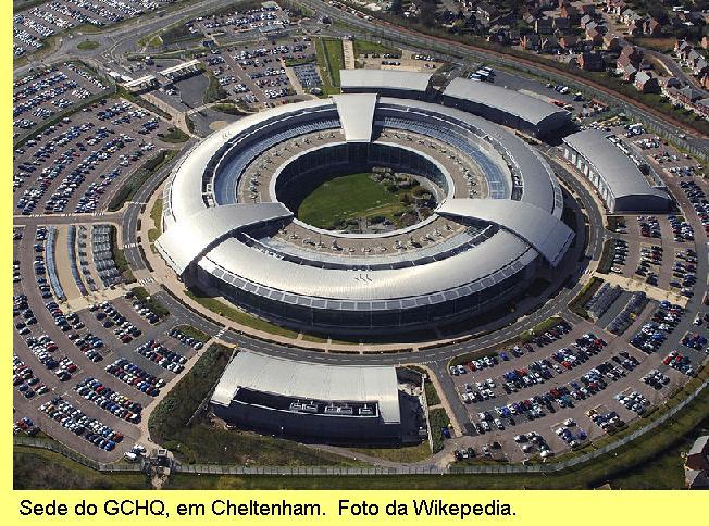 Sede do GCHQ em Cheltenham.