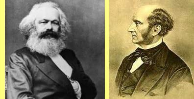 Marx e John Stuart Mill.