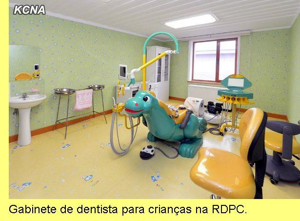 Gabinete de dentista para crian