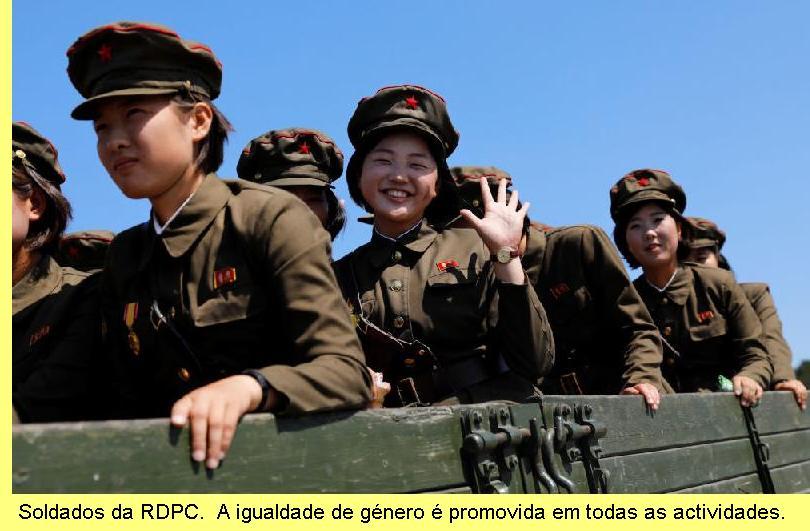 Soldados da RDPC.