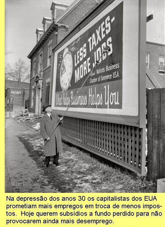 Cartaz da Câmara de Comércio dos EUA, 1939.