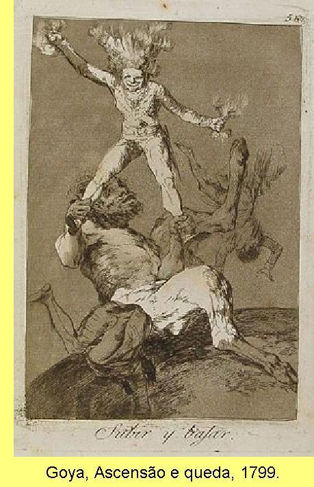 Goya, Ascens