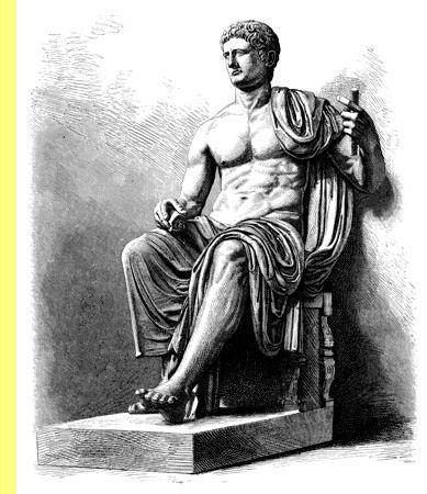 Claudius, imperador de Roma, 41-54 DC.